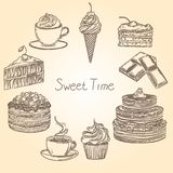 Tempo dolce 1 illustrazione di stock