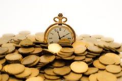 Tempo dourado. Fotos de Stock