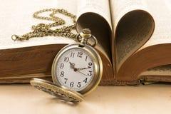 Tempo e amor Fotos de Stock Royalty Free