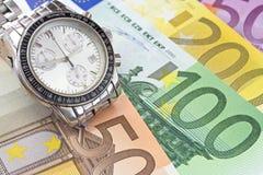 Tempo e commercio Immagini Stock