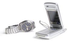 Tempo e comunicação Fotografia de Stock