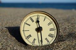 Tempo e concetto del mare Fotografie Stock Libere da Diritti