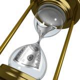 Tempo e dinheiro Fotografia de Stock