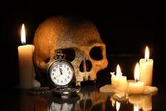 Tempo e morte Fotografia Stock Libera da Diritti