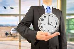 Tempo e negócio! Fotografia de Stock