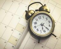 Tempo e planejador fotos de stock royalty free