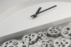 Tempo e sistema d'ingranaggi Immagini Stock