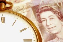 Tempo e soldi Immagine Stock Libera da Diritti
