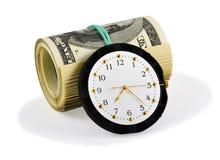 Tempo e soldi Immagini Stock