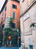 tempo em Roma foto de stock
