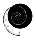 Tempo espiral Fotografia de Stock