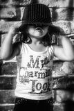 Tempo felice del bambino Immagini Stock