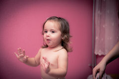 Tempo felice del bambino Fotografie Stock Libere da Diritti