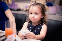 Tempo felice del bambino Fotografie Stock