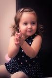 Tempo felice del bambino Fotografia Stock
