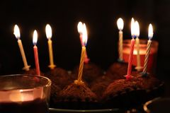 Tempo felice del partito di buon compleanno buon fotografie stock libere da diritti