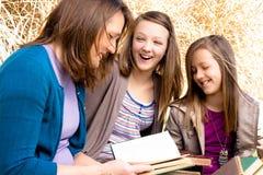 Tempo feliz da família Fotografia de Stock Royalty Free