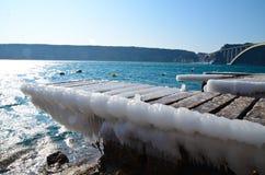 Tempo freddo Fotografia Stock