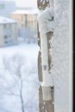 Tempo freddo estremo Immagini Stock