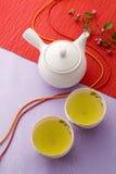Tempo giapponese del tè fotografie stock libere da diritti
