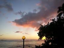 Tempo havaiano Fotografia de Stock