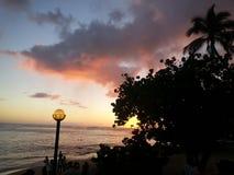 Tempo havaiano Imagens de Stock