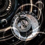 Tempo infinito, illustrazione 3D Fotografie Stock