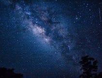 Tempo-lapso da Via Látea e das estrelas video estoque