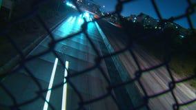 Tempo-lapso do Dutch do tráfego da autoestrada filme