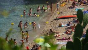 Tempo libero della spiaggia 05 archivi video