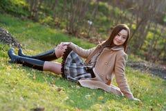 tempo libero di autunno Immagini Stock