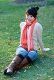 tempo libero di autunno fotografie stock libere da diritti