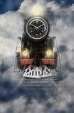 Tempo locomotivo Fotografia Stock Libera da Diritti