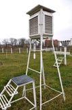 Tempo meteorologico di Chortkiv del campo da giuoco Immagini Stock Libere da Diritti