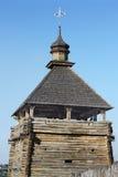 Tempo militar da torre de vigia de cossacos de Zaporizhzhya Imagens de Stock Royalty Free