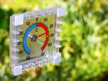 Tempo morno da temperatura Imagens de Stock