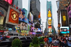 Tempo New York quadrada Fotos de Stock