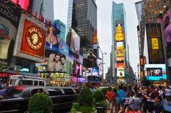 Tempo New York quadrata Fotografie Stock