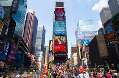 Tempo New York quadrata Fotografia Stock