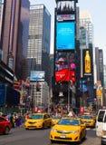 Tempo New York quadrata Fotografie Stock Libere da Diritti