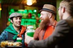 Tempo no bar Fotos de Stock Royalty Free