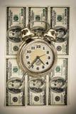 Tempo no conceito do dinheiro Fotos de Stock Royalty Free