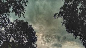 Tempo nuvoloso Fotografie Stock Libere da Diritti