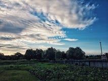 Tempo nuvoloso Fotografia Stock Libera da Diritti
