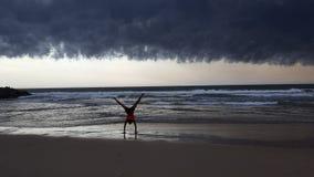 Tempo nuvoloso Immagine Stock