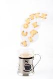 Tempo para uma ruptura de café Foto de Stock Royalty Free