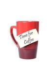 Tempo per caffè Fotografia Stock Libera da Diritti