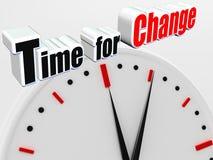 Tempo per cambiamento Immagine Stock Libera da Diritti