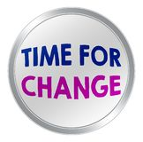 Tempo per cambiamento illustrazione vettoriale