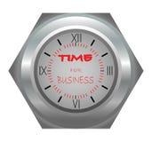 Tempo per il commercio Fotografie Stock